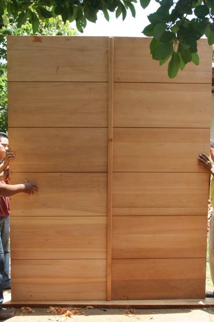 BEATRICE DRLICKA Modern Front Doors Miami By Mahogany De Honduras