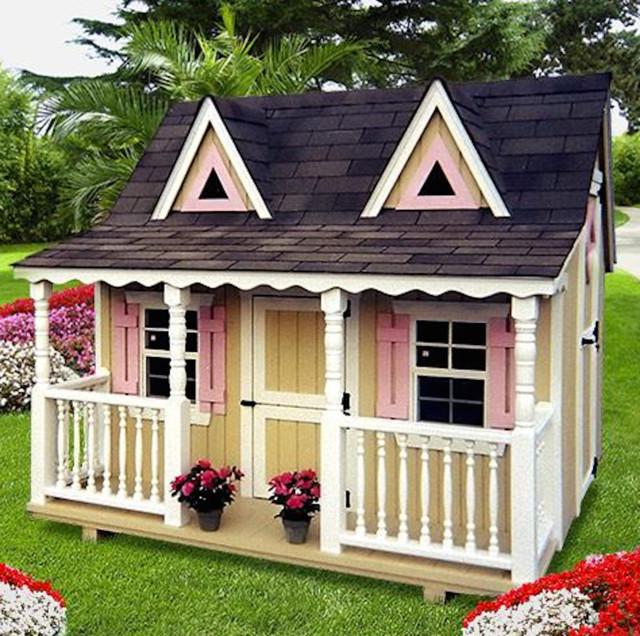 Outdoor structures for Casas infantiles de madera para jardin segunda mano