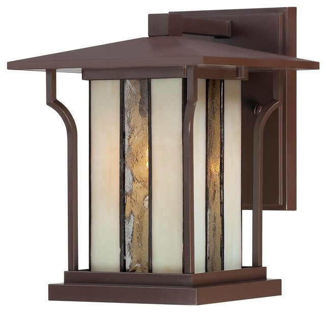 Quoizel Langston Transitional Outdoor Wall Sconce Arts And Crafts Outdoor Wal