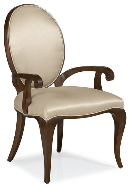 Louis J Solomon Dining Armchair Transitional Dining