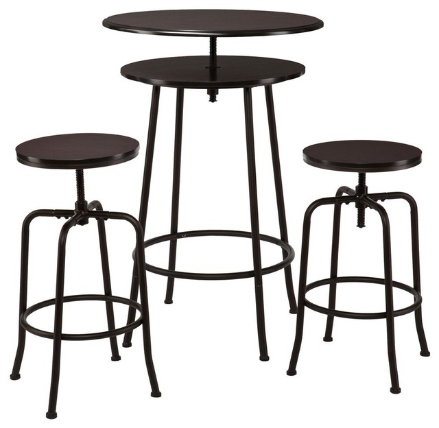 3pc Counter Height Dining Set Images Ashley Furniture