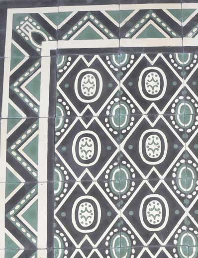 Cuban Heritage Design Handmade Cement Tile Eclectic