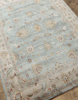 Ak07 hand knotted ankar modern for Modern rugs los angeles