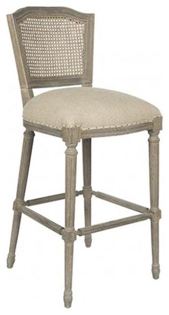 Aidan Gray Ethan Barstool Traditional Furniture By Candelabra