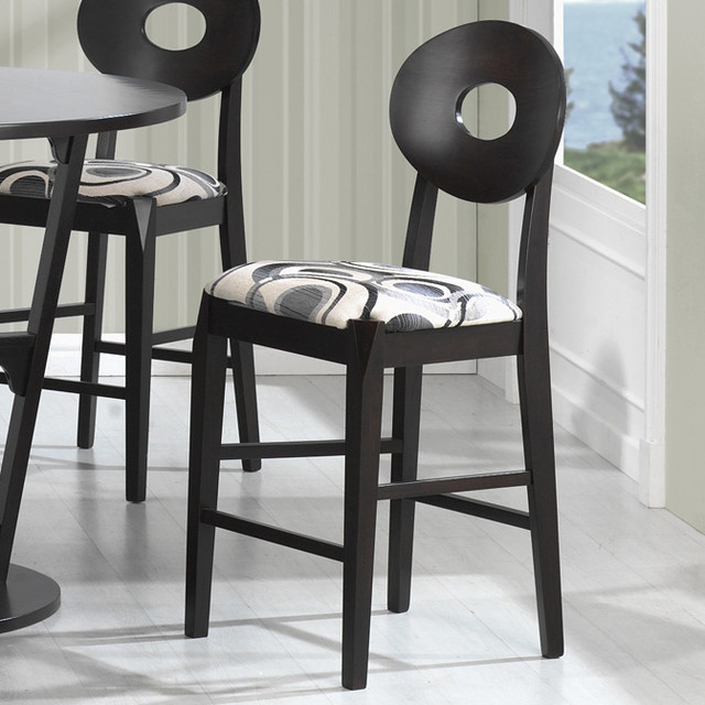 Counter Height Modern Stools : Gregory Counter Height Stool, Cappuccino - Set of 2 modern-mugs