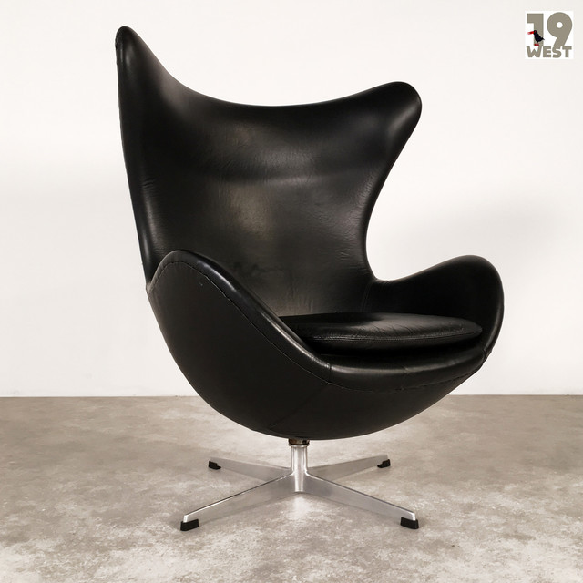 egg chairs arne jacobsen mid century sessel other metro von 19 west furniture. Black Bedroom Furniture Sets. Home Design Ideas