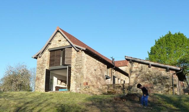 Restauration d 39 une grange en maison d 39 habitation - Rehabilitation d une grange en habitation ...