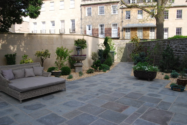 Courtyard garden contemporary south west by bath for Landscape architects bath
