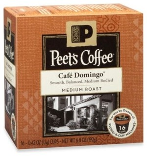 Peet's Coffee 16-Count Cafe Domingo Coffee for Keurig K-Cup Brewers - Contemporary - by Bed Bath ...