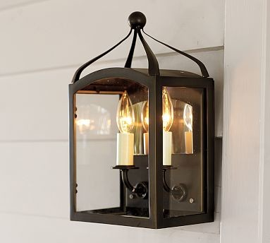 Gothic Outdoor Sconce, Bronze finish - Traditional - Wall ...