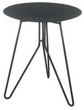 beistelltisch sputnik small schwarz modern. Black Bedroom Furniture Sets. Home Design Ideas