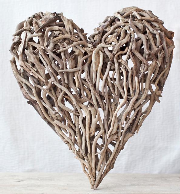 Driftwood Heart Artwork New York By Samantha Drew Interiors