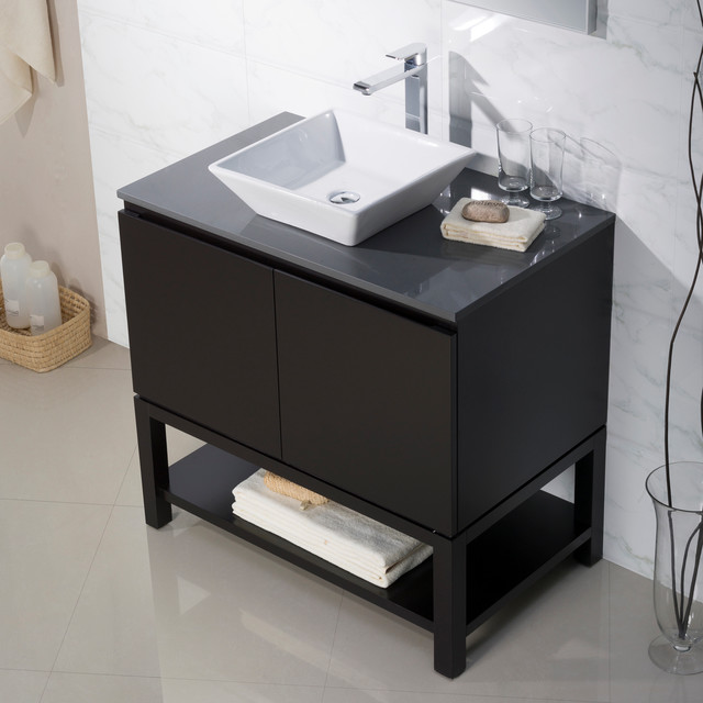 Bathroom Sink Consoles : Bathroom Vanities - Modern - Bathroom Vanities And Sink Consoles ...