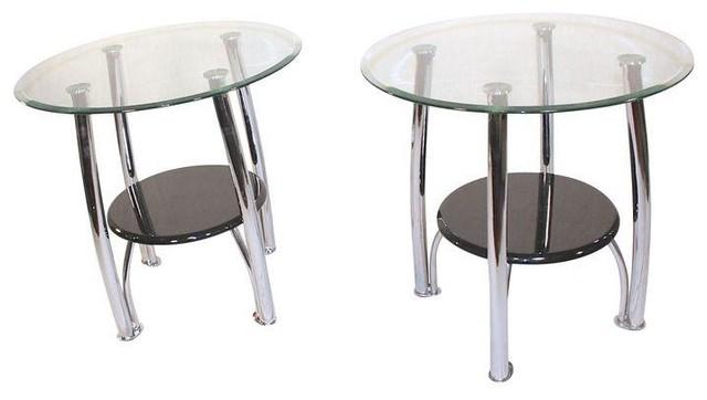 Glass Side Tables For Bedroom Home Design