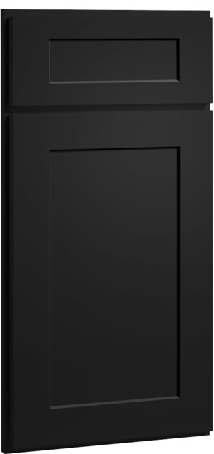 dayton carbon black paint shaker kitchen cabinet sample modern kitchen cabinetry