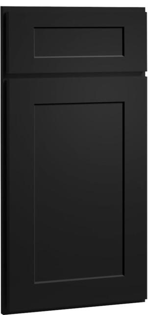 dayton carbon black paint shaker kitchen cabinet sample modern kitchen cabinetry