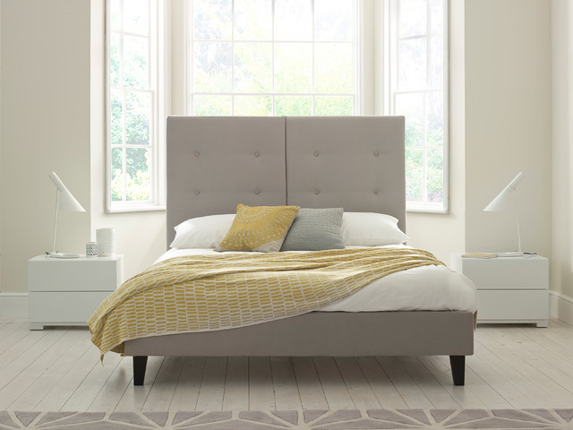 Josie Upholstered Bed Contemporary Panel Beds East Midlands By