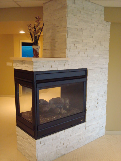 Fireplaces Modern Indoor Fireplaces Other Metro By