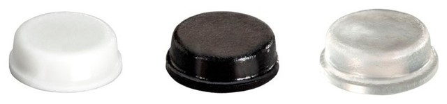 "Cylindrical Adhesive Cabinet & Furniture Rubber Stoppers-BS34 .375""x.125""-300pcs - Traditional ..."