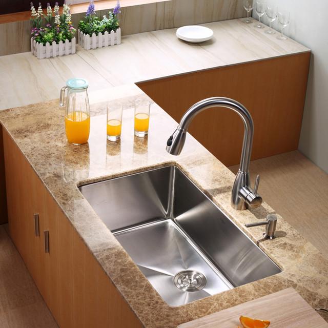 Kraus Khu100 30 Kpf2130 Sd20 30 Inch Undermount Sink And