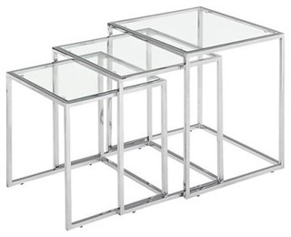 Fargo Nesting Tables - Modern - Side Tables And End Tables - by Target