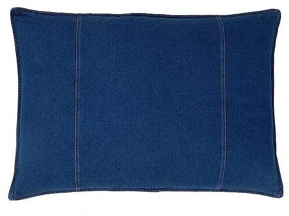 american denim pillow sham standard size contemporary. Black Bedroom Furniture Sets. Home Design Ideas