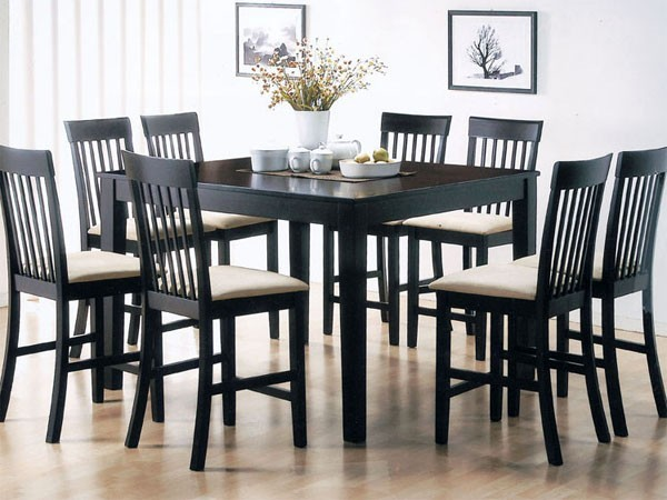 Acme Furniture Sienna 5 Piece Counter Height Table Set 7355 5set Contem