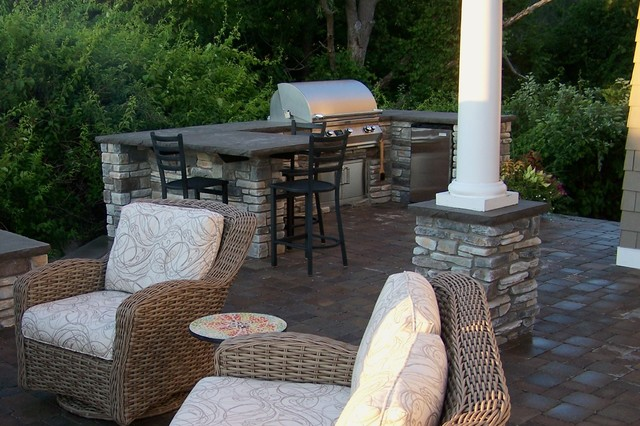 Cozy Outdoor Living Space Grand Rapids By Landscape