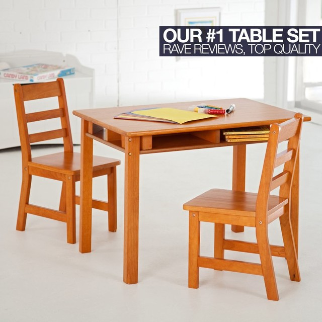 Lipper Childrens Rectangular Table and Chair Set 534