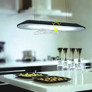 Modern Oblong Dining Pendant Lighting