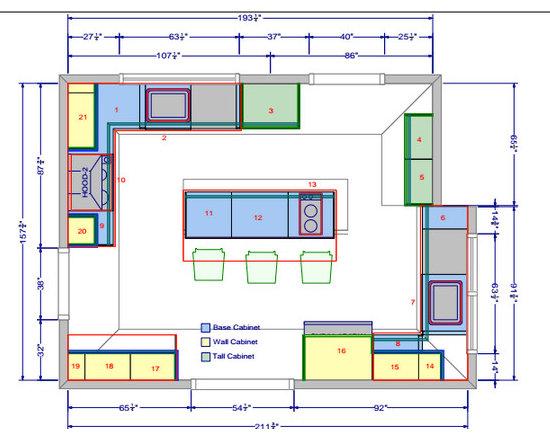 Kosher kitchen floor plan wood floors for Kosher kitchen design plans
