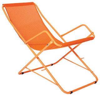 bahama deckchair orange the conran shop uk bord de mer chaise pliante de jardin par the. Black Bedroom Furniture Sets. Home Design Ideas