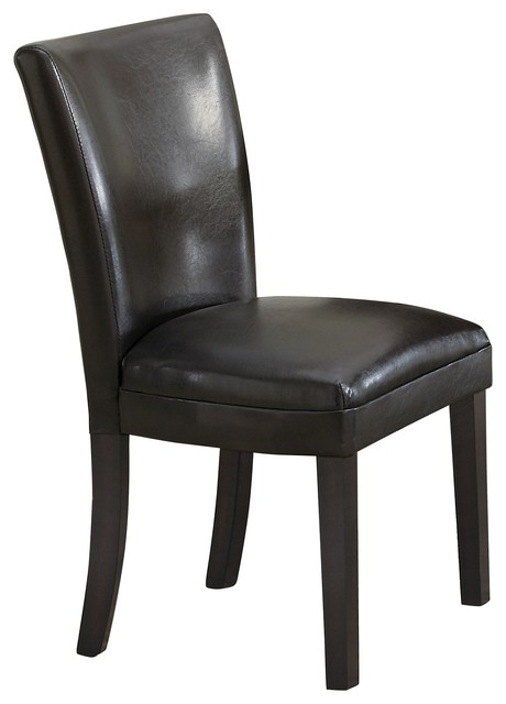 Parsons plush upholstered dining chair contemporary dining chairs by - Plush dining room chairs ...