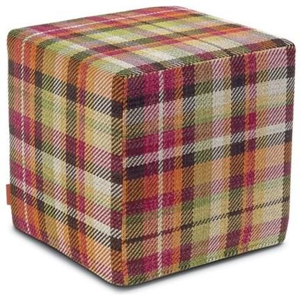 missoni home yarraman cube pouf modern floor pillows