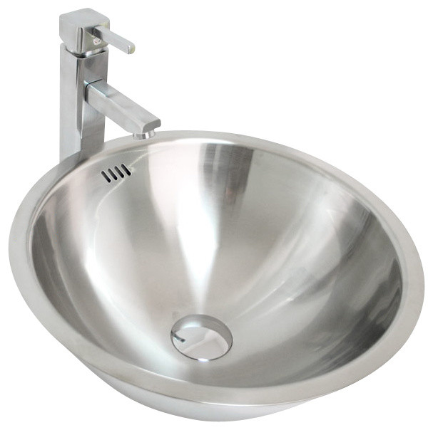 Stainless Steel Sink In Bathroom : All Products / Bathroom / Bathroom Sinks