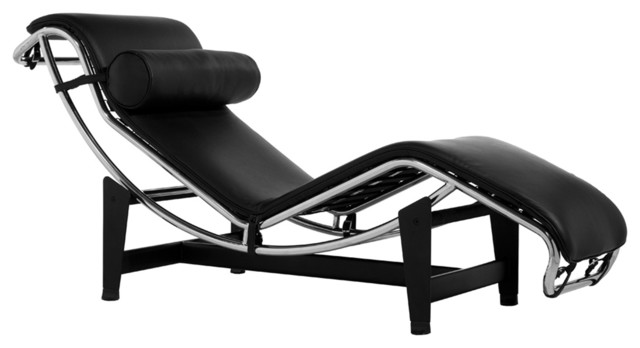 Le corbusier chaise lounge style - Chaise longue montreal ...