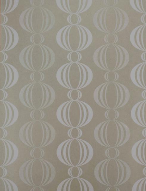 Azhar taupe retro orb wallpaper, bolt   retro   tapet   af ...