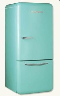 Retro Turquoise Refrigerator - Victorian - Refrigerators - kansas city ...