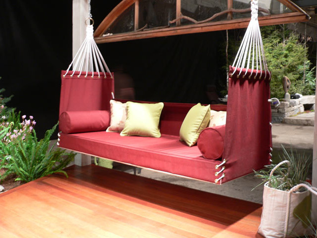 3pc sectional sofa set with reversible chaise and ottoman in red