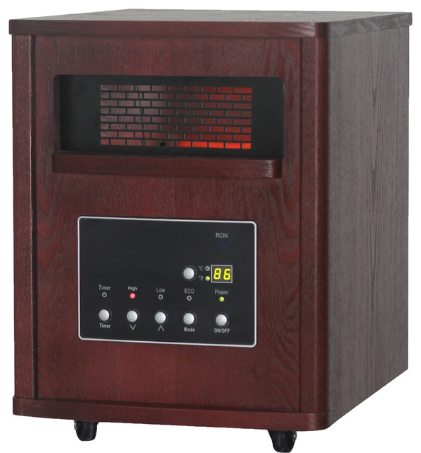 Thermal Wave by SUNHEAT TW1460 Infrared Heater - Espresso - Traditional - Space Heaters - by SUNHEAT