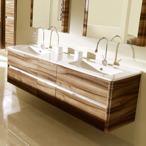 ambiance bain dolce large vanity modern bathroom