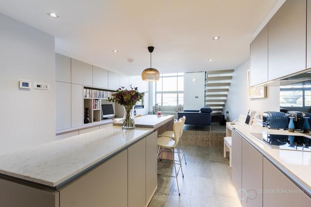 Contemporary London Studio Apartment Contemporary