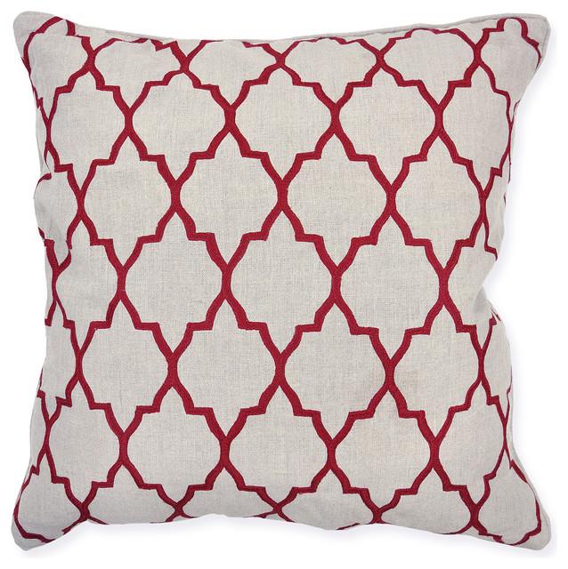 Burgundy Color Decorative Pillows : Jail Burgundy Decorative Pillows