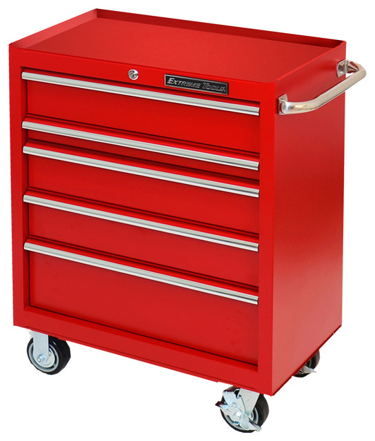 "Extreme Tools 30"" Standard Roller Cabinet, Textured Red - Garage And Tool Storage - by Extreme Tools"