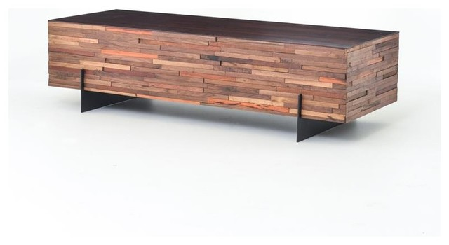 Four Hands Bina Re Cycle Levi Coffee Table Contemporary Coffee Tables By Seldens Furniture