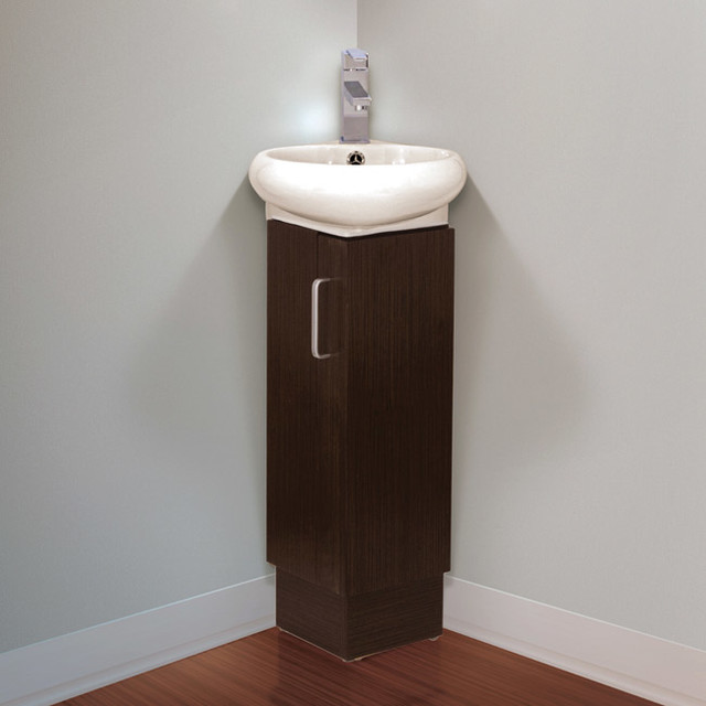 milan 12 inch wood wenge white bathroom vanity