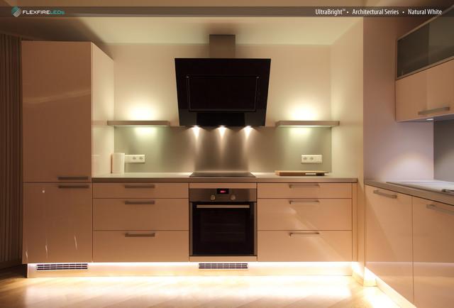 Flexfire LEDs Kitchen Lighting Under Cabinet Modern