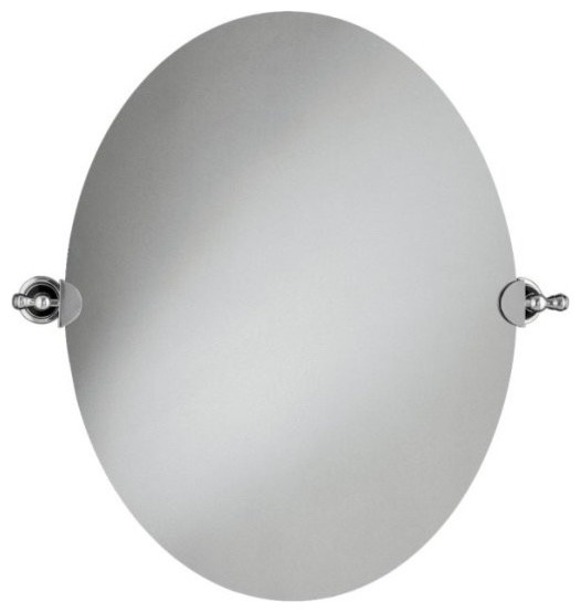 Kohler k 16145 cp revival mirror in polished chrome traditional bathroom mirrors by Polished chrome bathroom mirrors
