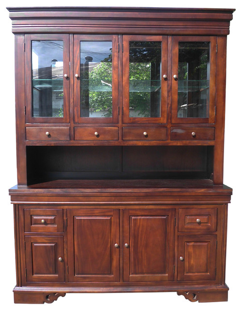 Hutch Traditional China Cabinets And Hutches By D