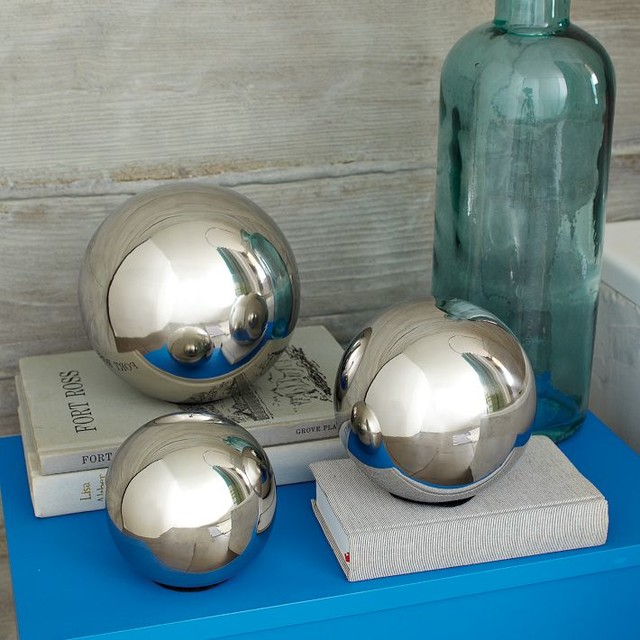 Silver Orbs Modern Home Accessories Decor By West Elm